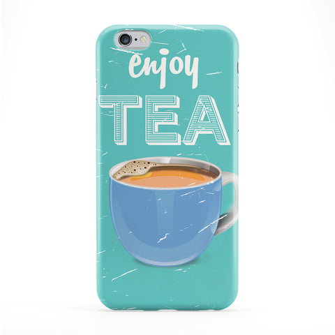Vintage Tea cup commerical Full Wrap Protective Phone Case by Nick Greenaway