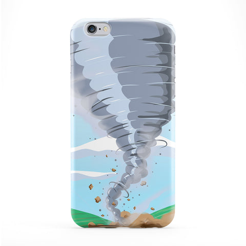 Tornado Full Wrap Protective Phone Case by Nick Greenaway