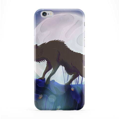 Scary Wolf Phone Case by Nick Greenaway