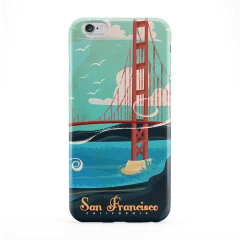 San Francisco Full Wrap Protective Phone Case by Nick Greenaway