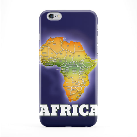 Map of Africa Phone Case by Nick Greenaway