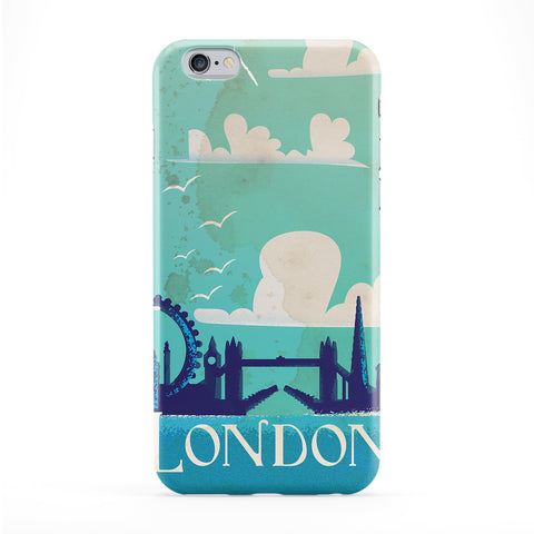 London Full Wrap Protective Phone Case by Nick Greenaway