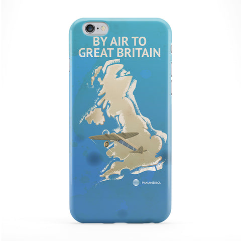 Great Britain Full Wrap Protective Phone Case by Nick Greenaway