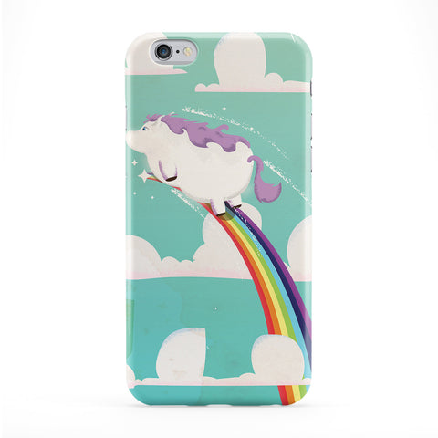 Flying Unicorn Full Wrap Protective Phone Case by Nick Greenaway