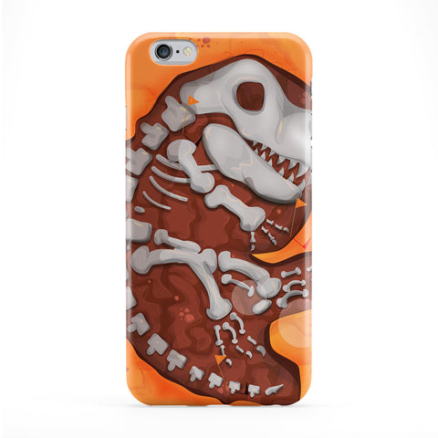 Dinosaur Dig Full Wrap Protective Phone Case by Nick Greenaway