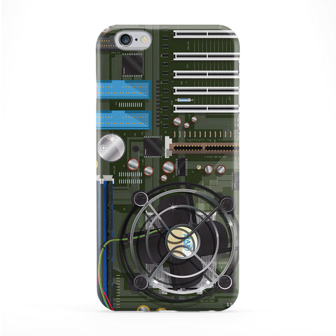 Computer motherboard Phone Case by Nick Greenaway