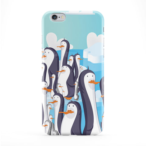 Cheeky Penguins Phone Case by Nick Greenaway