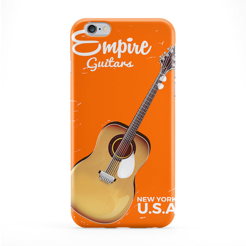 Acoustic Guitar commercial Full Wrap Protective Phone Case by Nick Greenaway
