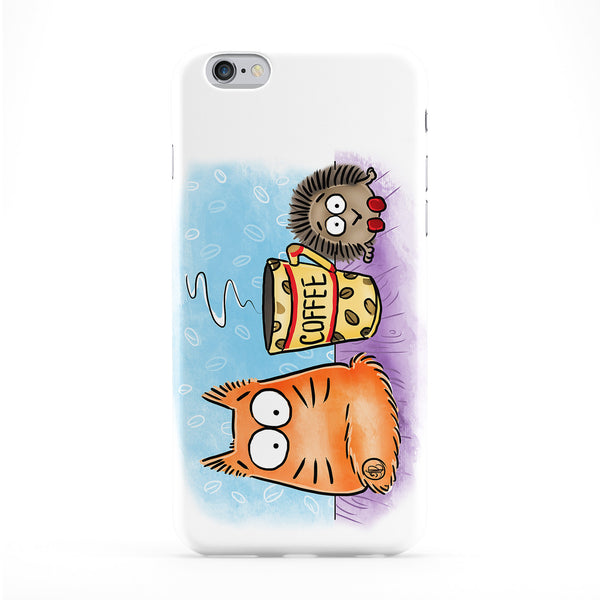 Power Of Coffee Phone Case by Pookie