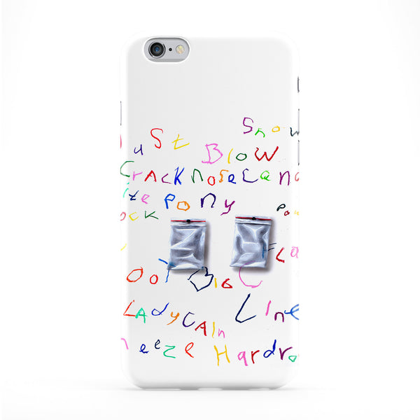 Cocaine Phone Case by Ramon Bruin
