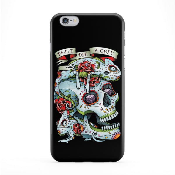 Don't Die A Copy Full Wrap Protective Phone Case by Sam Phillips