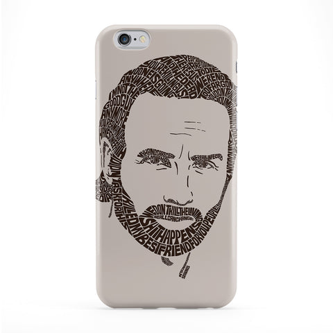 Walking Dead Rick Grimes Phone Case by Sean Williams