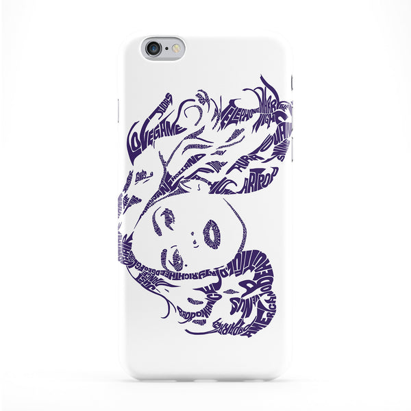 Lady Gaga Full Wrap Protective Phone Case by Sean Williams