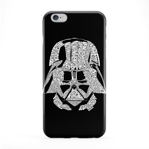 Darth Vader White Phone Case by Sean Williams