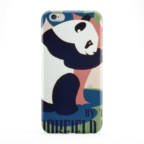 Retro Vintage Panda Zoo Phone Case by Tom Pearson