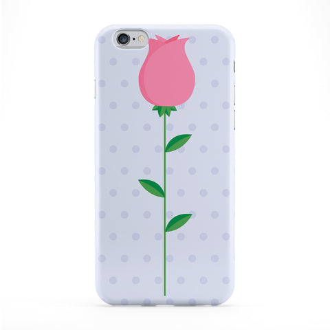 Pink Flower Polka Dots Phone Case by Tom Pearson