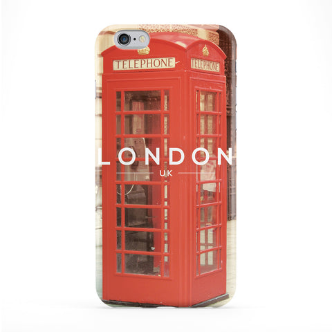 London Phone Box Phone Case by Tom Pearson