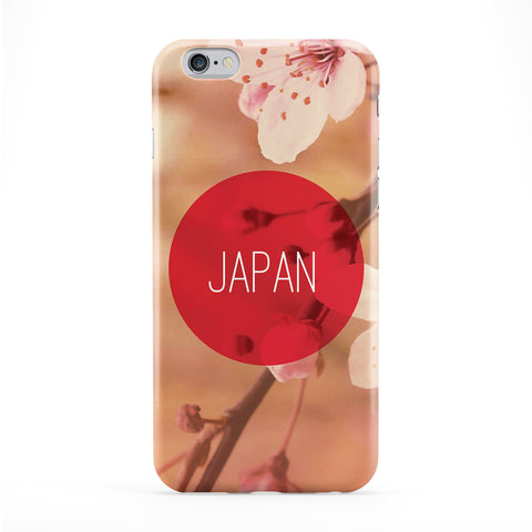 Japan Cherry Blossom Full Wrap Protective Phone Case by Tom Pearson