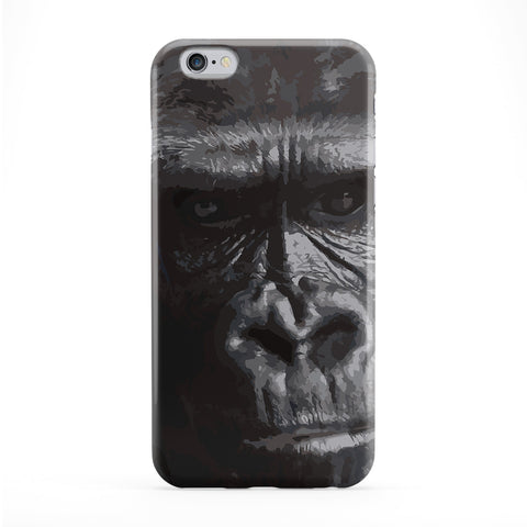 Gorilla Full Wrap Protective Phone Case by Tom Pearson