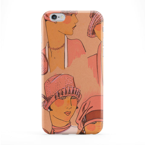 Fashion Illustration Vintage Retro Phone Case by Tom Pearson