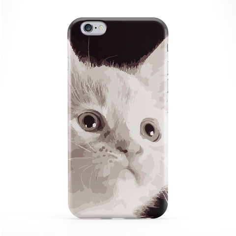 Cute Kitten Cat Full Wrap Protective Phone Case by Tom Pearson