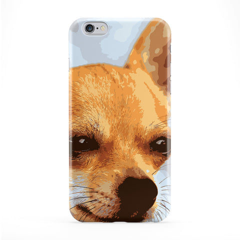 Cute Chiwawa Full Wrap Protective Phone Case by Tom Pearson