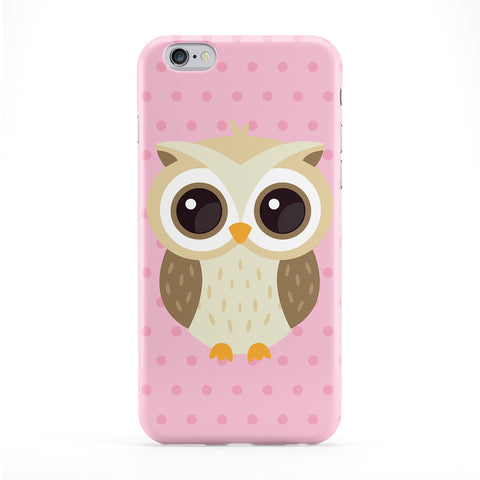 Cute Barn Owl Full Wrap Protective Phone Case by Tom Pearson
