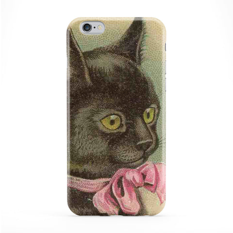 Cat Retro Art Story Book Full Wrap Protective Phone Case by Tom Pearson