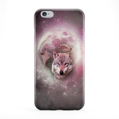 Wolves Full Moon Phone Case by Tom Pearson