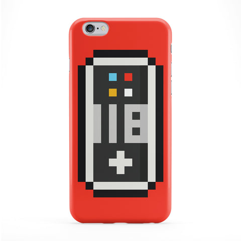 Retro Controller Full Wrap Protective Phone Case by Tom Pearson