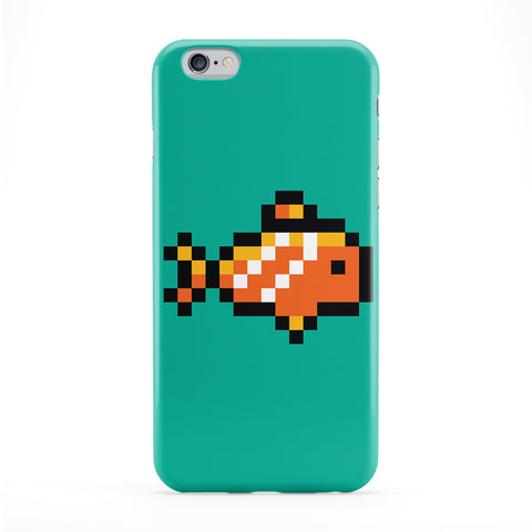 Pixel Fish Phone Case by Tom Pearson
