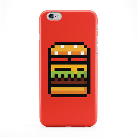 Pixel Burger Phone Case by Tom Pearson