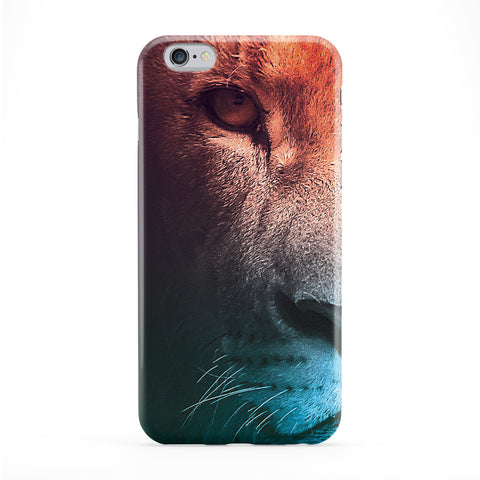 Lion Colorful Full Wrap Protective Phone Case by Tom Pearson
