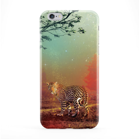 Jaguar_Forest Full Wrap Protective Phone Case by Tom Pearson