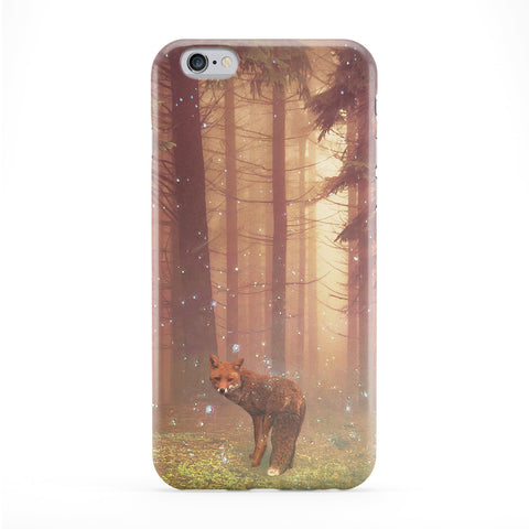 Fox Forest Full Wrap Protective Phone Case by Tom Pearson