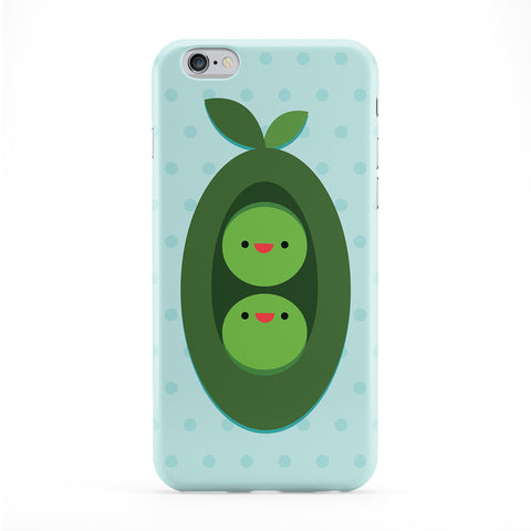 Cute Peas Full Wrap Protective Phone Case by Tom Pearson