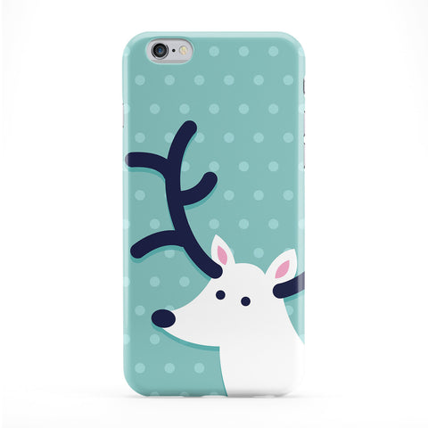 Cute Deer Full Wrap Protective Phone Case by Tom Pearson
