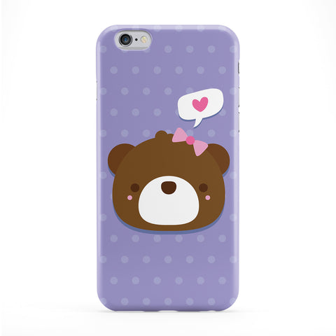 Cute Bear Phone Case by Tom Pearson