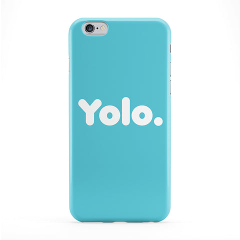 Yolo Blue Phone Case by textGuy