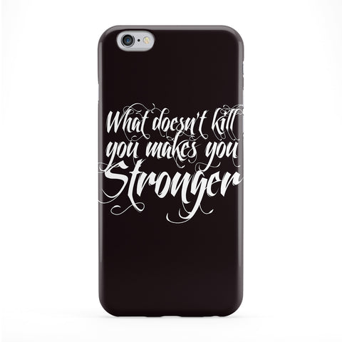What Doesn't Kill You Phone Case by textGuy