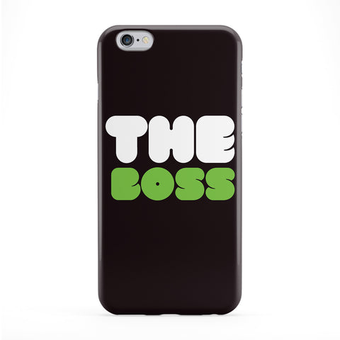 The Boss Phone Case by textGuy