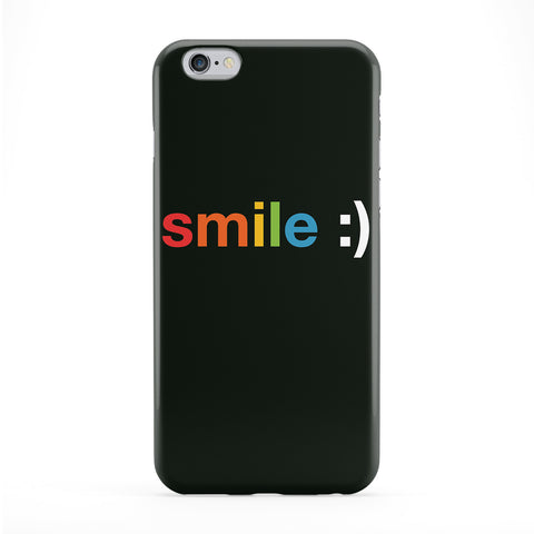 Smile Full Wrap Protective Phone Case by textGuy