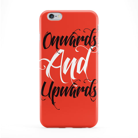 Onwards and Upwards Full Wrap Protective Phone Case by textGuy