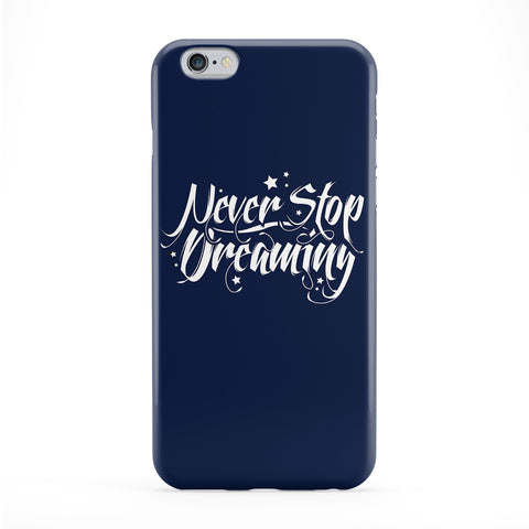 Never Stop Dreaming Full Wrap Protective Phone Case by textGuy