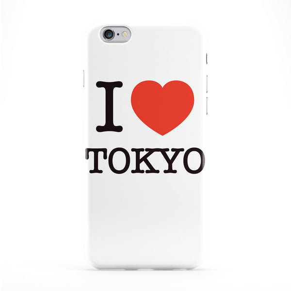 I Love Tokyo Full Wrap Protective Phone Case by textGuy