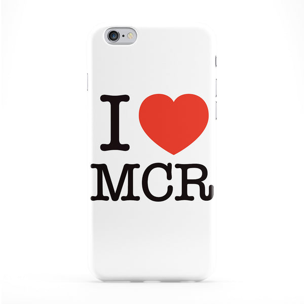 I Love MCR Full Wrap Protective Phone Case by textGuy