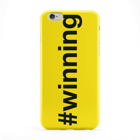 Hashtag Winning Full Wrap Protective Phone Case by textGuy