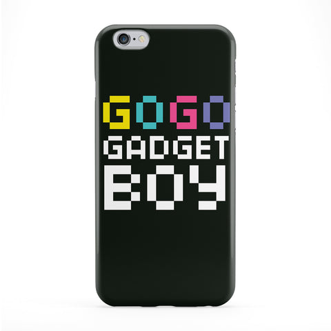 Gogo Gadget Boy Full Wrap Protective Phone Case by textGuy