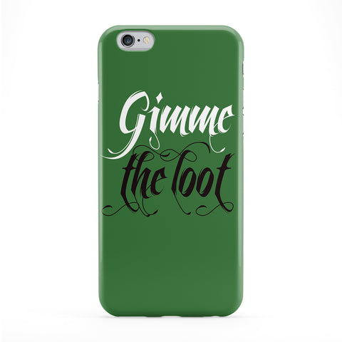 Gimme the Loot Full Wrap Protective Phone Case by textGuy