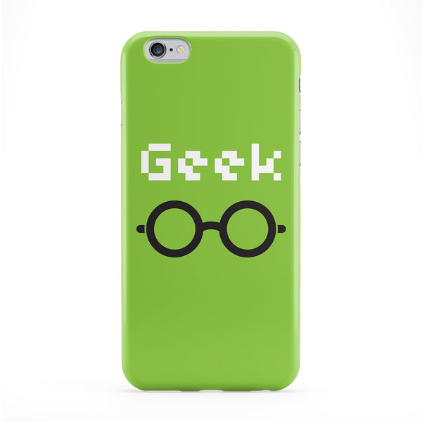 Geek Full Wrap Protective Phone Case by textGuy